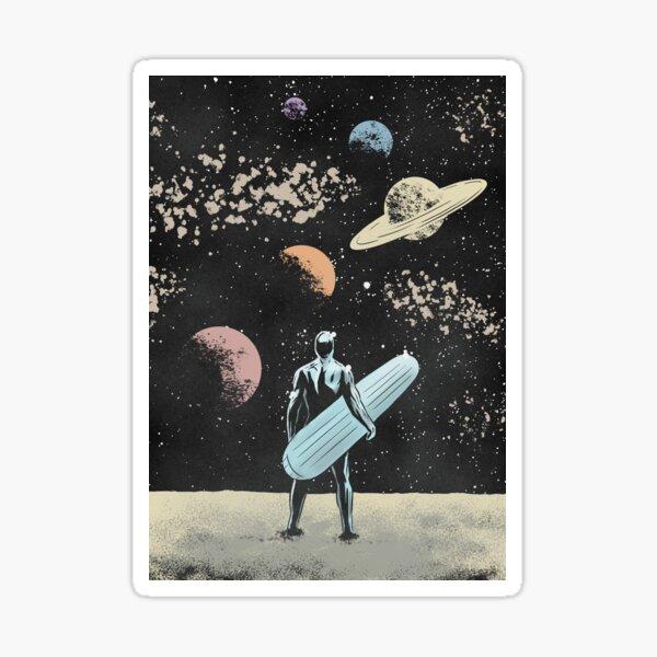 Silver Surfer Sticker