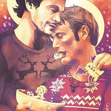 Merry Hannigram Christmas by FlyingRotten