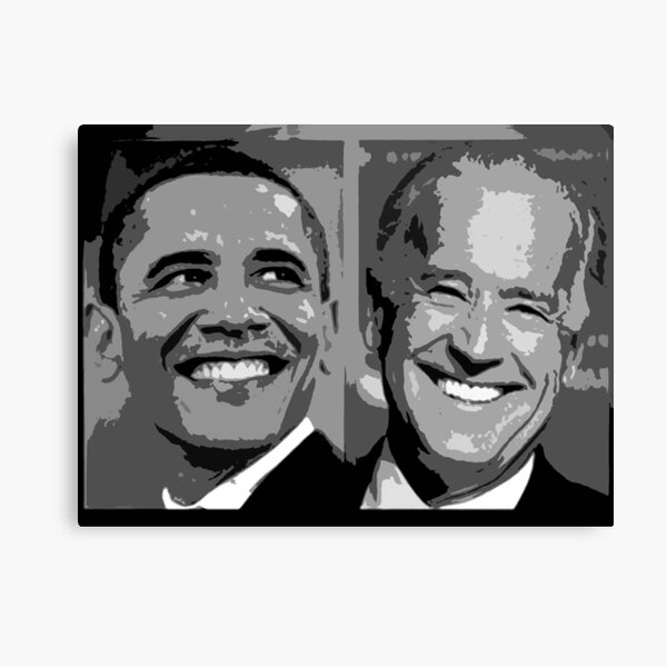 Obama Biden Canvas Print