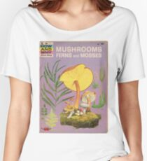 Mushroom Book Cover Women's Relaxed Fit T-Shirt