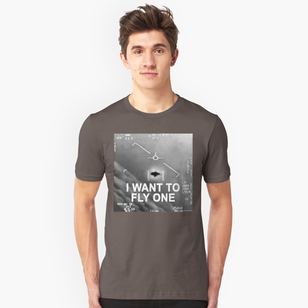 I Want To Fly One Unisex T-Shirt Front