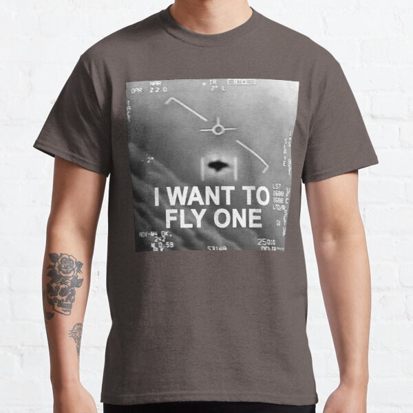 I Want To Fly One Classic T-Shirt