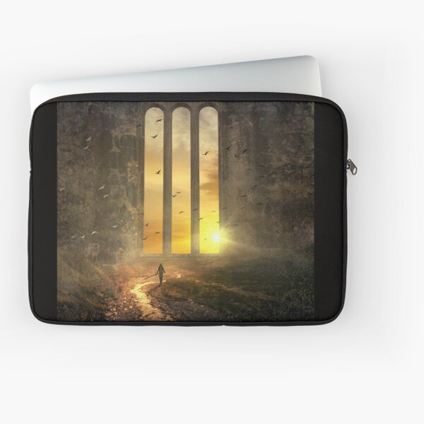 Das magische Fenster - The magic Window Laptoptasche