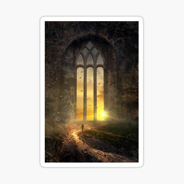 The magic window Sticker