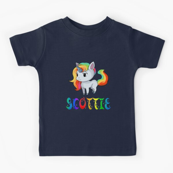 Scottie Unicorn Kids T-Shirt