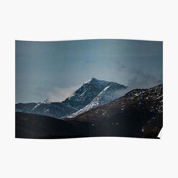 mount Snowdon snowdonia national park  Poster