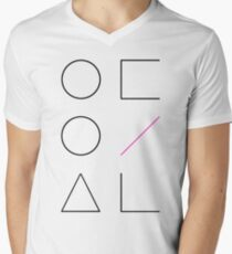 LООПΔ Men's V-Neck T-Shirt
