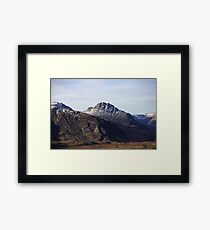 Tryfan a mountain in North Wales Framed Print