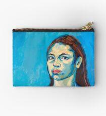Check Yourself (self portrait) Studio Pouch