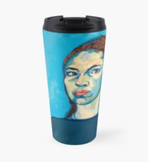 Check Yourself (self portrait) Travel Mug