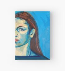 Check Yourself (self portrait) Hardcover Journal