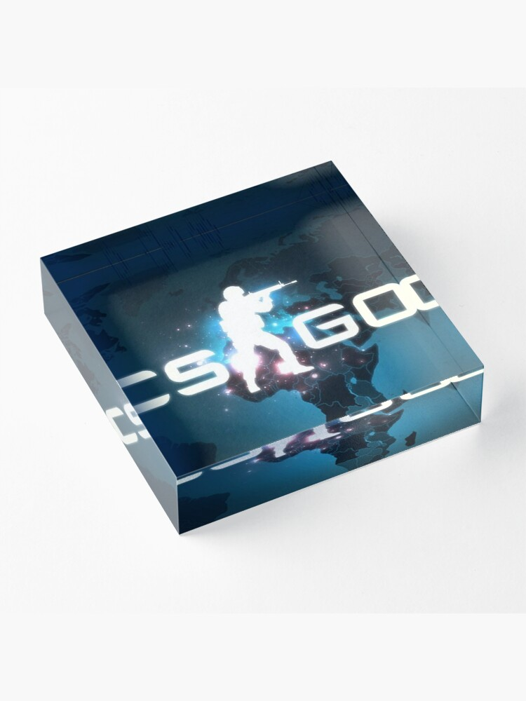 Alternate view of Counter strike - Global Offensive Acrylic Block