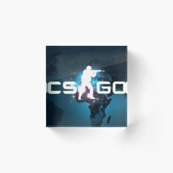 Counter strike - Global Offensive Acrylic Block
