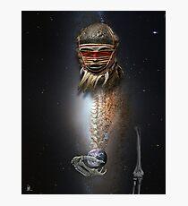cosmic shaman 39 Photographic Print