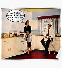 Kitchen Talk Poster