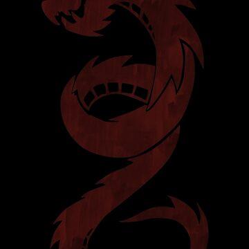 Chloe Red Dragon by mavisshelton