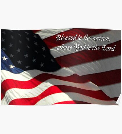 Blessed is the Nation, Whose God is the Lord Poster