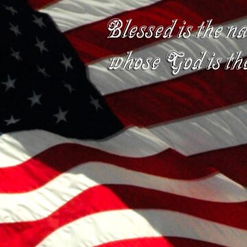 Blessed is the Nation, Whose God is the Lord by cometman