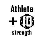 Athlete d20 Strength by Christopher Myers
