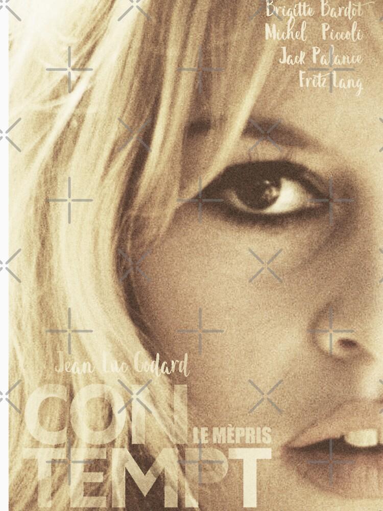 Quot Le M 233 Pris Contempt Brigitte Bardot Movie Poster