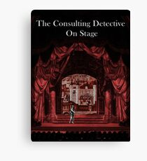 Cover Art from The Consulting Detective Trilogy Books Canvas Print