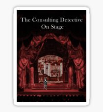 Cover Art from The Consulting Detective Trilogy Books Sticker