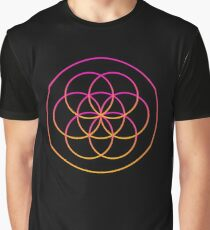 Psychedelic Sacred Geometry Graphic T-Shirt