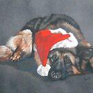 Weihnachshund by BarbBarcikKeith