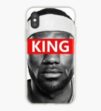 LeBron James - King iPhone Case