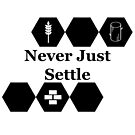 Never Just Settle by Christopher Myers