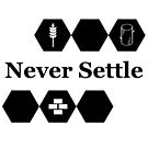 Never Settle by Christopher Myers