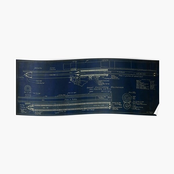 3 In. Field Rifle  Poster