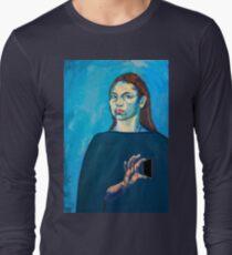 Check Yourself (self portrait) Long Sleeve T-Shirt