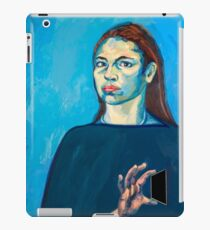 Check Yourself (self portrait) iPad Case/Skin