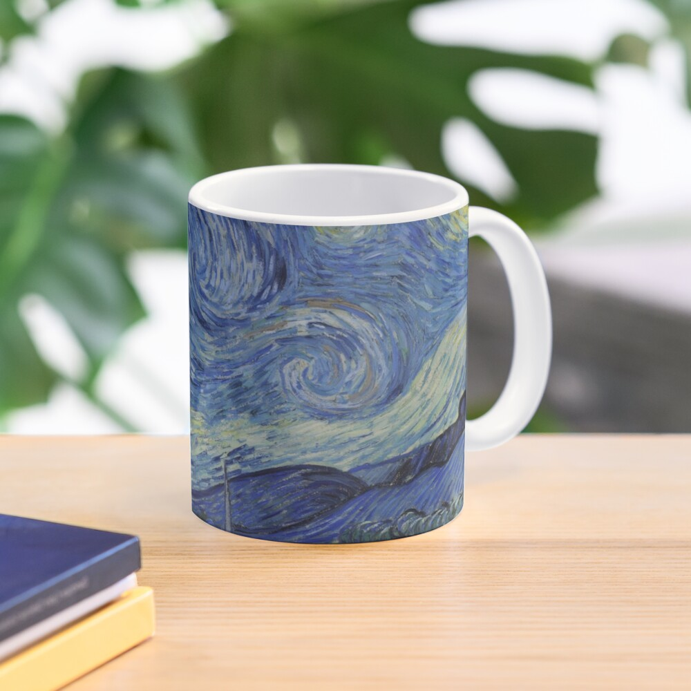 Starry Night Oil painting by Vincent van Gogh Mug