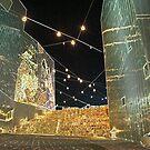 Neon Federation Square by wondawe