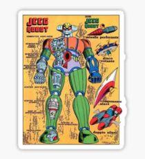 ROBOT JEEG Sticker