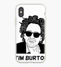 Tim Burton - Portrait iPhone Case