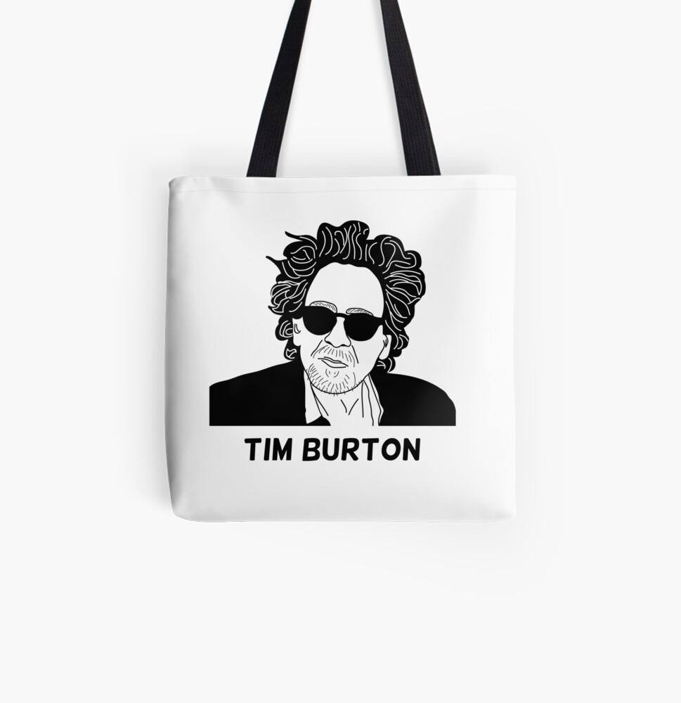 Sociología Decorar semáforo  Bolsos de mano «Tim Burton - Retrato» de 8mmAttire | Redbubble