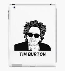 Tim Burton - Portrait iPad Case/Skin