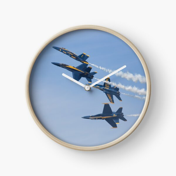 The US Navy Blue Angels Clock