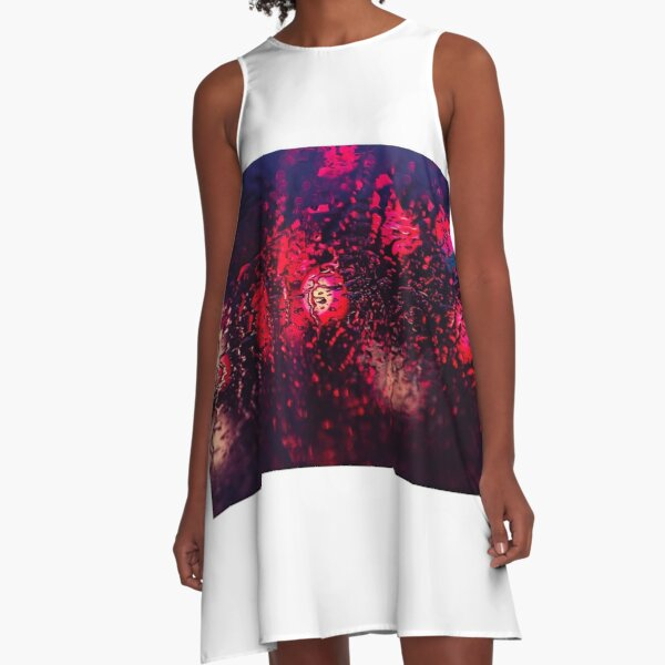 texture exotique A-Line Dress