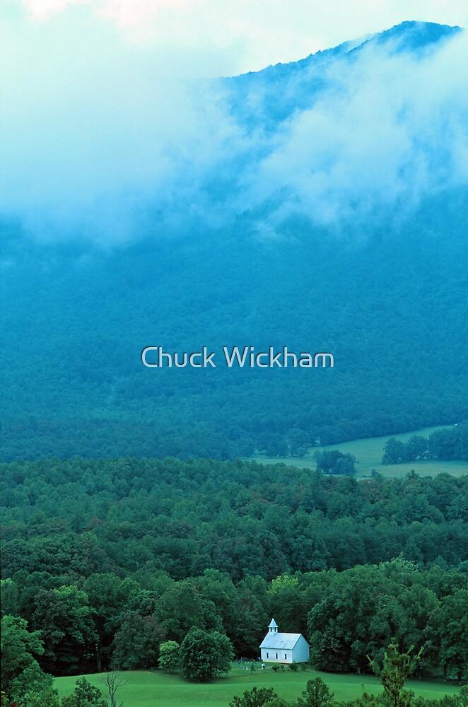 CHURCH,CADES COVE by Chuck Wickham