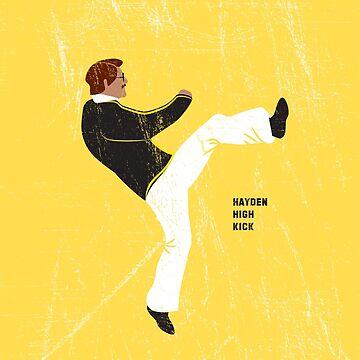 Hayden High Kick (V2) by danielcampagna