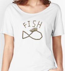 Bullet Shell Fish Women's Relaxed Fit T-Shirt