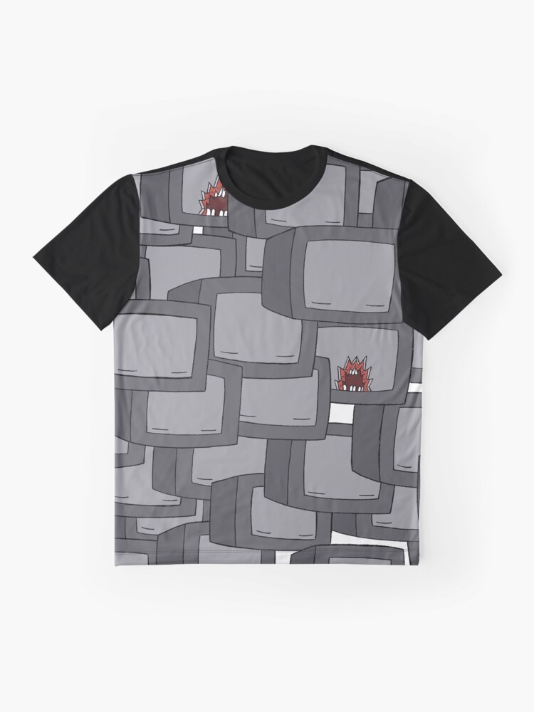 Alternate view of Crowded Graphic T-Shirt