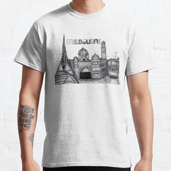 Melbourne in tangles  Classic T-Shirt