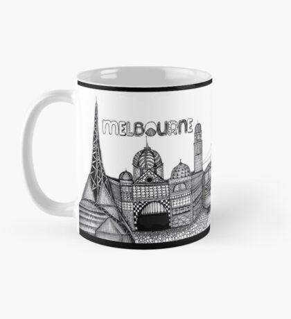 Melbourne in tangles  Mug