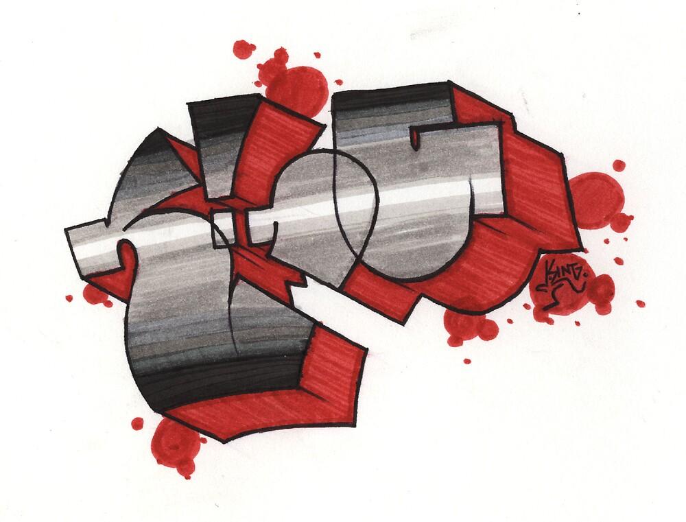KING graff' by FatPanda