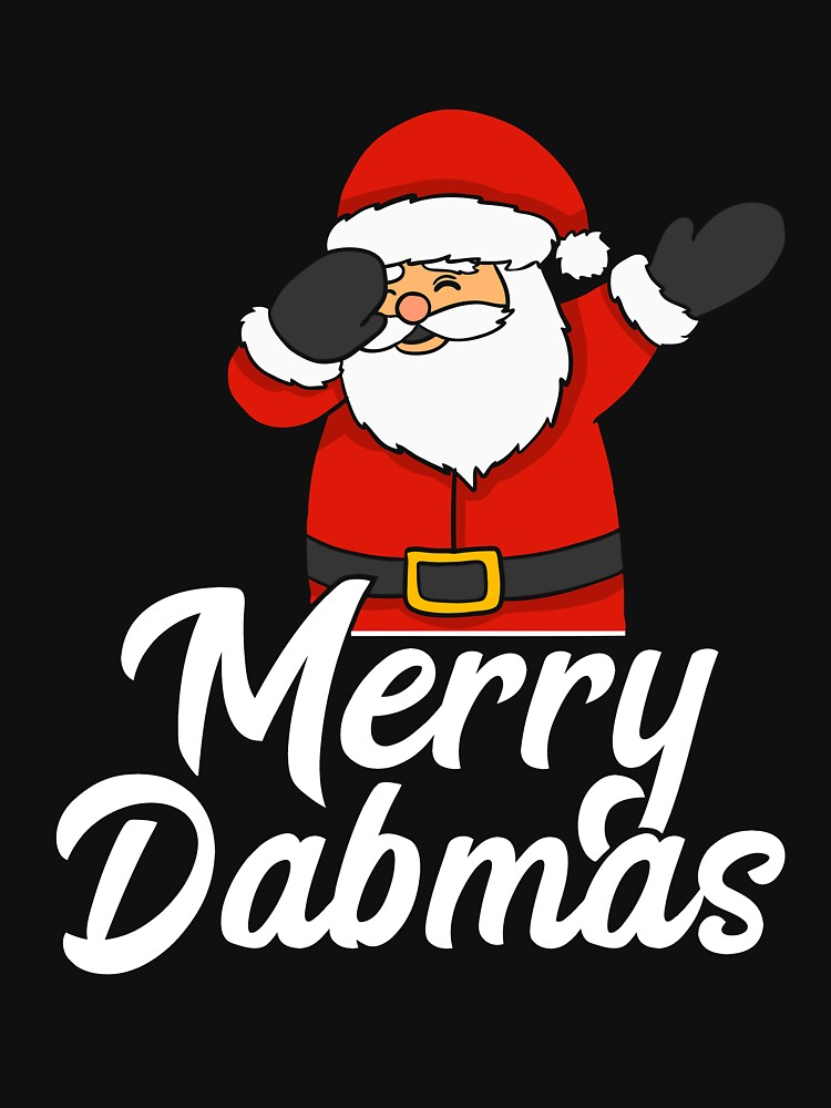 dabbing santa dab elf reindeer dabbing through the snow funny christmas sweater as a